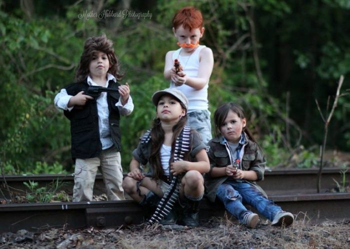 Controversial Walking Dead Photo Shoot Gets People Talking