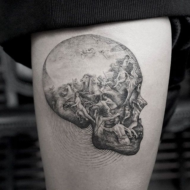 This Post Is For Tattoo Aficionados Around The World