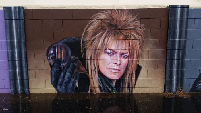Artists Creates Incredible David Bowie Tribute In Phoenix