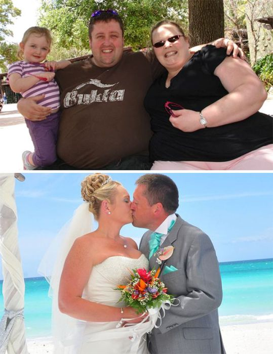 The Couple That Loses Weight Together Stays Together