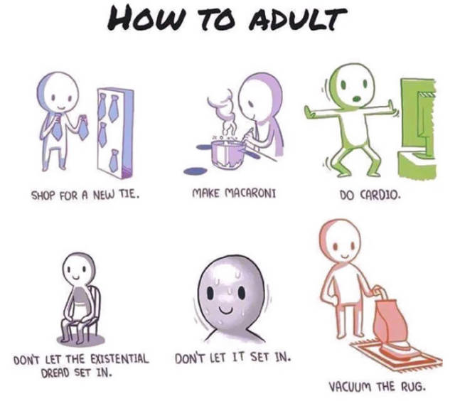 Hilarious Cartoons That Capture The Experience Of Becoming An Adult