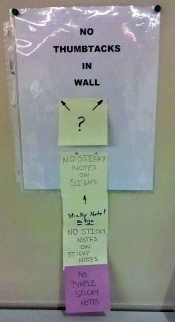 Wacky Office Signs Make The Workplace Fun
