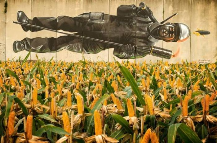These Street Art Masterpieces Are Easy To Appreciate