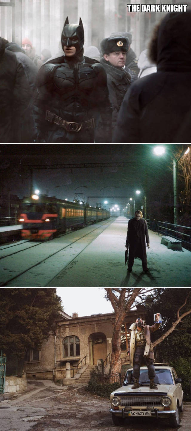 If Famous Movies Were Filmed In Russia