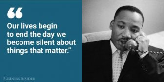 Martin Luther King Jr. Was A Very Wise Man
