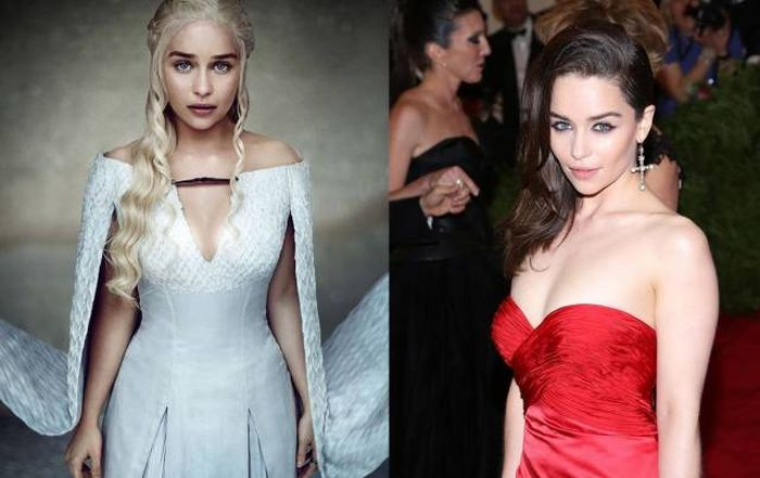 Game Of Thrones Stars In And Out Of Costume