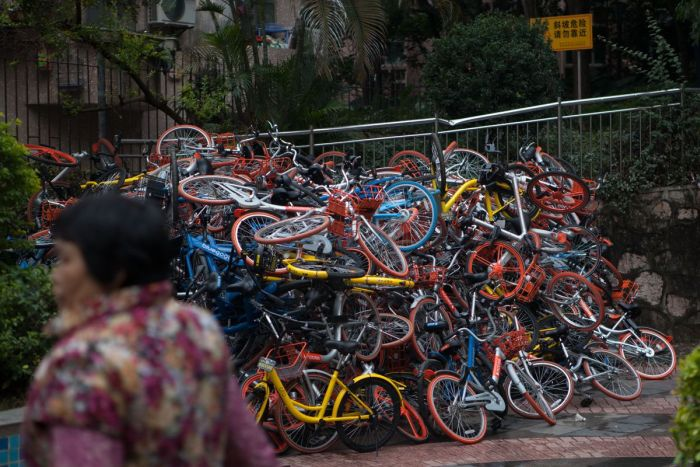 The Shared Bike Situation In China Has Turned Chaotic