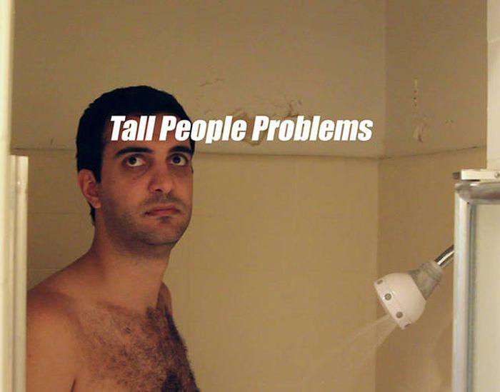 Being Tall Is Definitely Not As Great As It Sounds