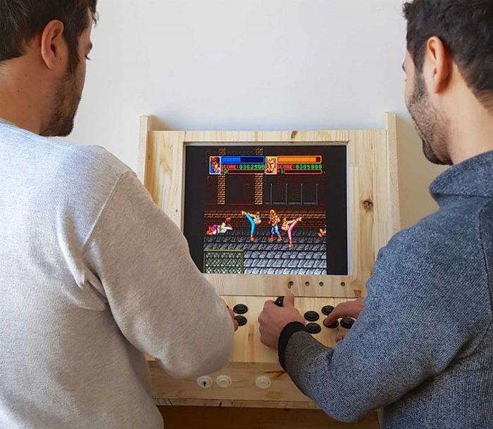 Guy Builds One A Kind Arcade Game Cabinet