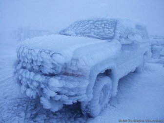 You Can't Deny The Beauty Of These Frozen Cars