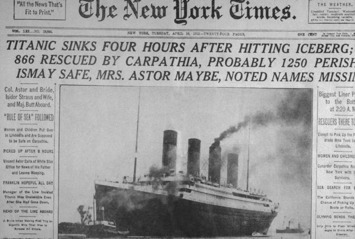 Cool And Influential Vintage Newspaper Headlines