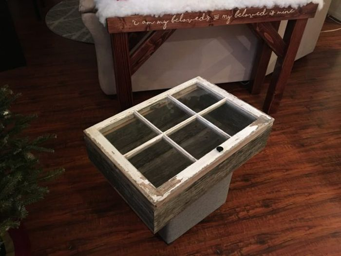 Man Turns Old Window Into A Beautiful Coffee Table Others