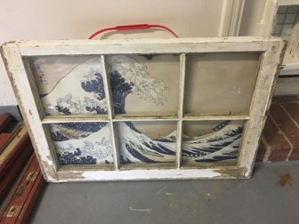 Man Turns Old Window Into A Beautiful Coffee Table