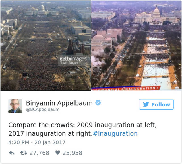 Hilarious Tweets About Donald Trump's Inauguration That Will Crack You Up