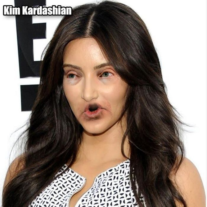 What Celebrities Look Like With Donald Trump's Eyes And Mouth