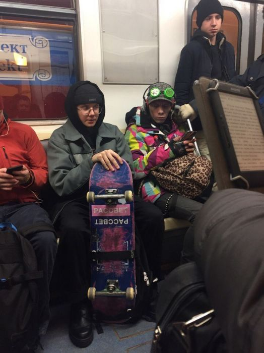 You Can See Some Bizarre Sights While Riding The Subway In Russia