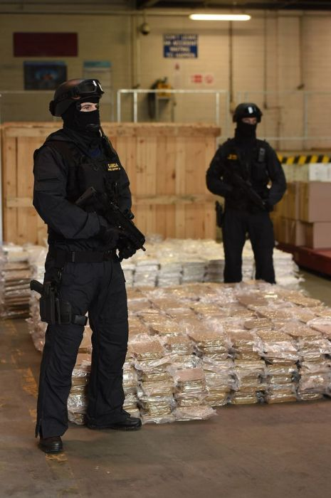 Irish Police Discover A Massive Marijuana Stash Hidden In Farm Equipment