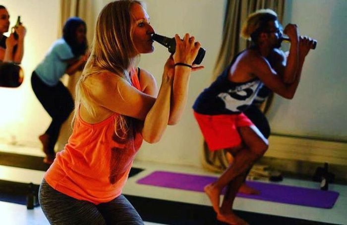 Beer Yoga Is The Next Big Thing
