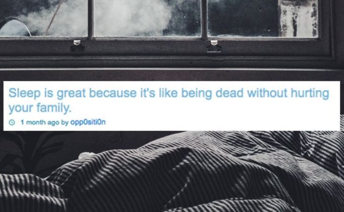 Amusing Shower Thoughts About Sleep That We Can All Relate To