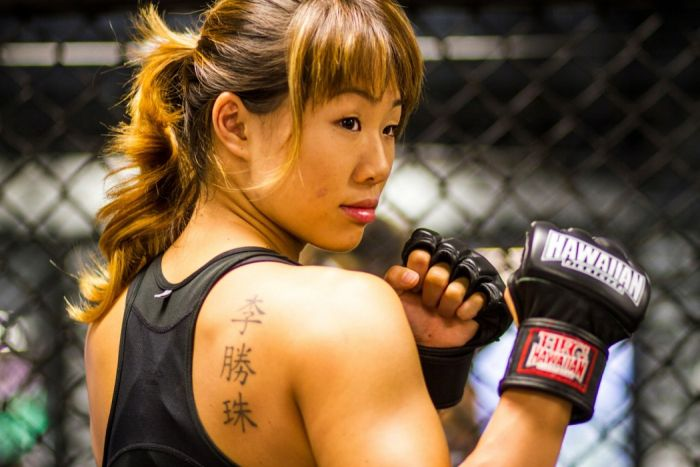 Angela Lee Is Both Deadly And Gorgeous