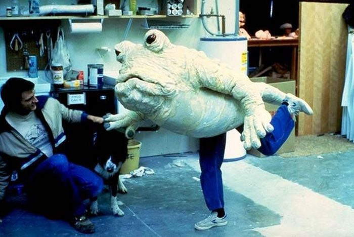 Rare Behind The Scenes Photos From Star Wars: Return Of The Jedi