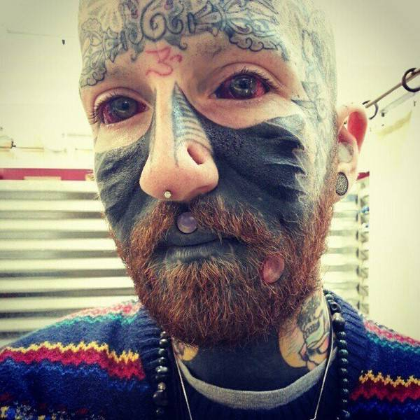Proof That There Is Such A Thing As Too Much Piercing And Tattooing