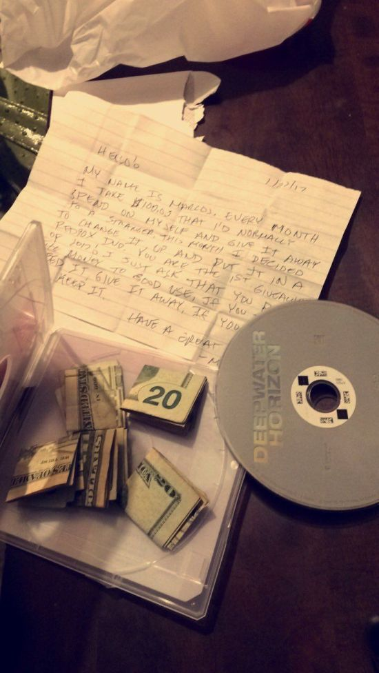 Person Gets An Unexpected Surprise From A Redbox Movie