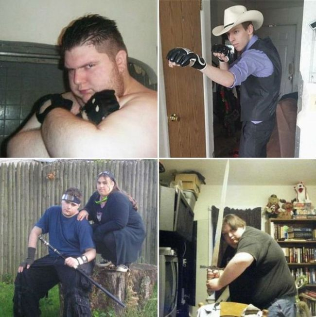 Intimidating Thugs From The Internet