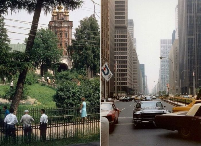 Photos Show Off How Different Moscow And New York Looked In 1969, part 1969