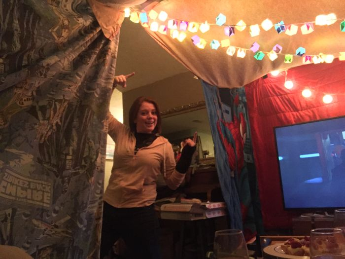 This Is The Best Adult Fort Ever Built