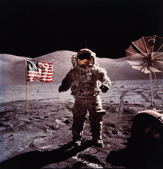Breathtaking Shots Of American Astronauts On The Moon
