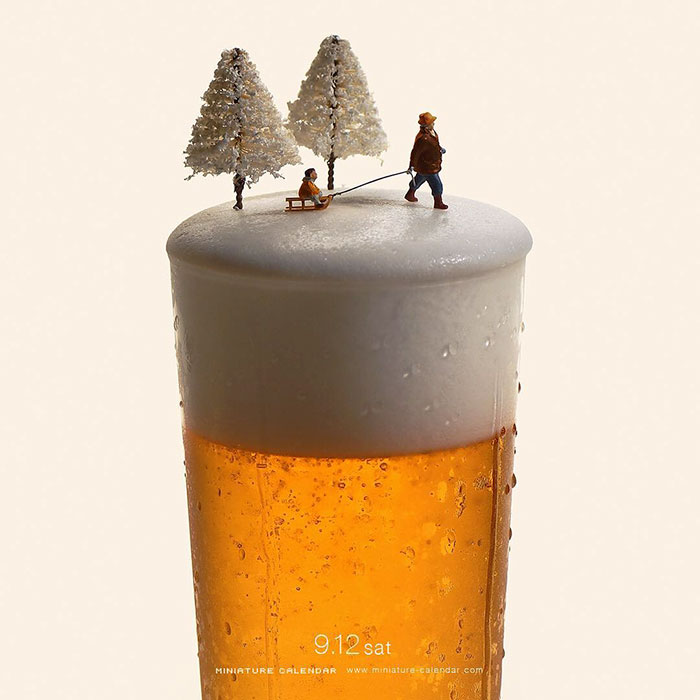 Little Dioramas Show Off The Amazing Lives Of Tiny People