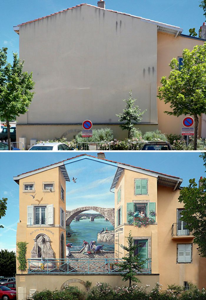 Amazing 3D Street Art Illusions That Will Make Your Head Spin