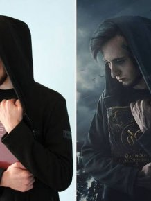 This Russian Photoshop Artist Clearly Attended Hogwarts