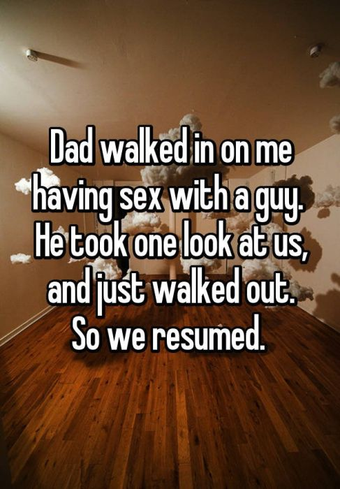 People Share Awkward Moments When Parents Caught Them Having Sex