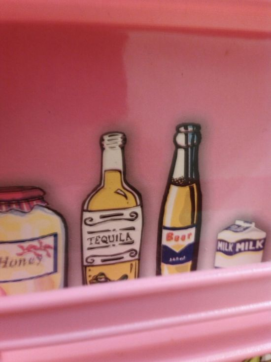 Interesting Surprise Discovered In A Toy Refrigerator