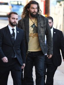 Jason Momoa Is So Big He Needs To Protect His Bodyguards