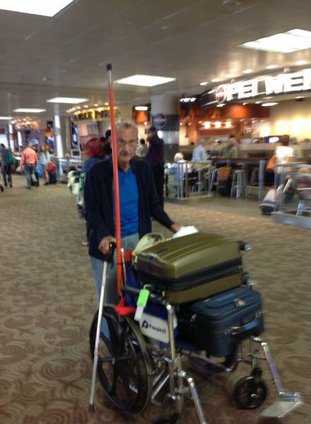 Sometimes Really Strange Things Happen At Airports