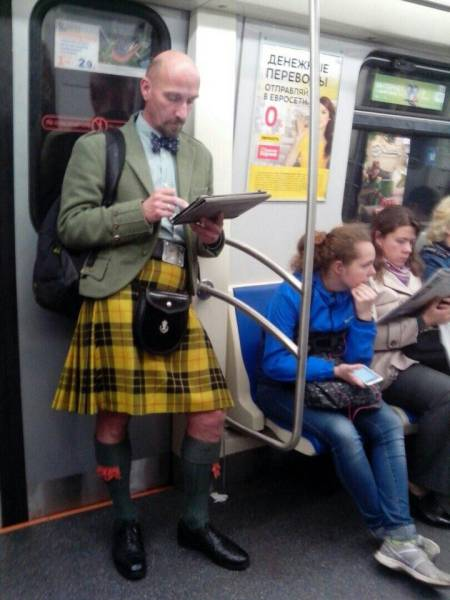 Brave Souls Who Wore Outrageous Outfits In Public