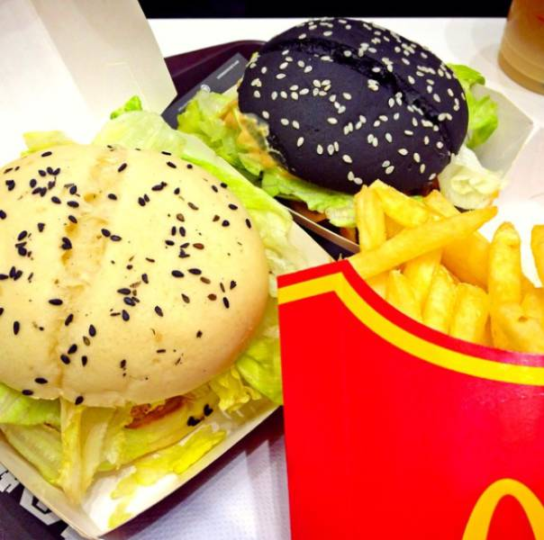 McDonald's Food From 17 Different Countries Around The World