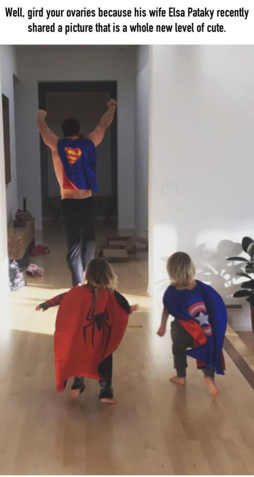 Proof That Chris Hemsworth Is An Awesome Dad