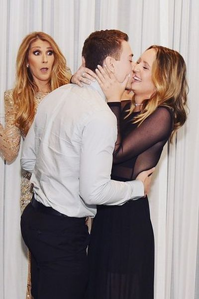 Celine Dion's Face Was Priceless When This Guy Proposed To His Girlfriend