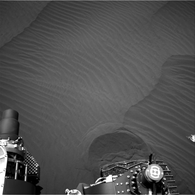 Curiosity Sends Stunning Pictures Of Martian Sand Dunes