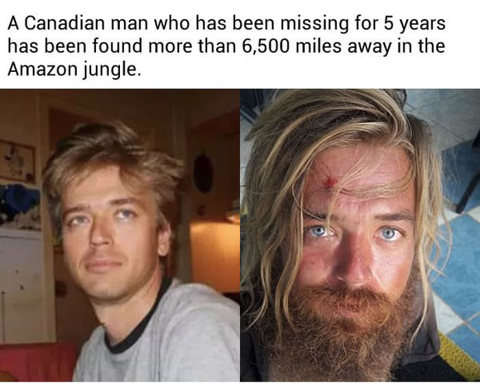 Canadian Man Who Disappeared Years Ago Has Been Found In Brazil