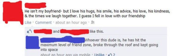 The Friendzone Is A Graveyard For Noble Men