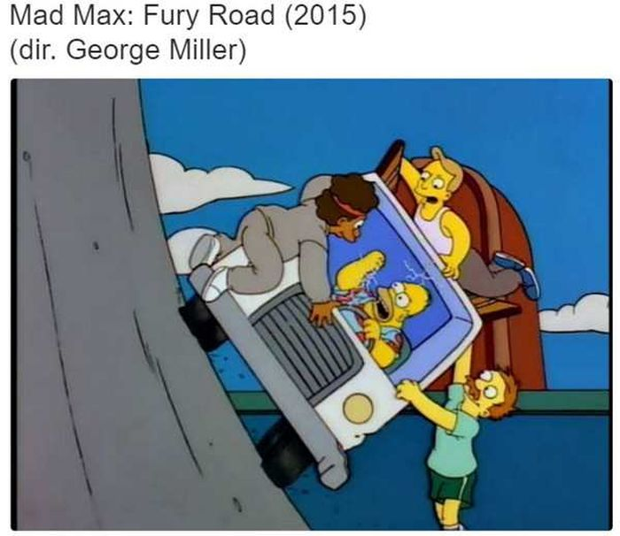 Scenes From The Simpsons That Are Just Like Famous Movies