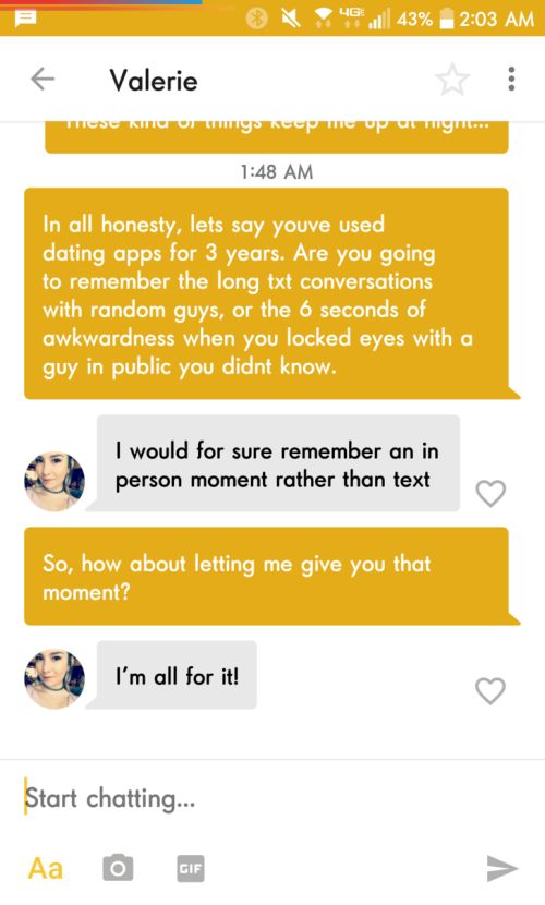 Slick Guy Uses Dating App To His Advantage