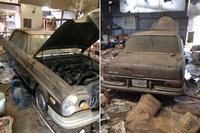 Untouched Mercedes-Benz Discovered In An Old Barn