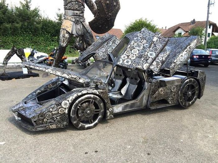 It's Hard To Believe This Epic Car Was Made From Scrap Metal