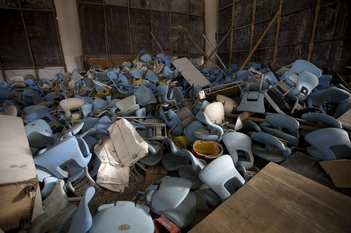 Olympic Venues In Rio Just 6 Months After The Olympics